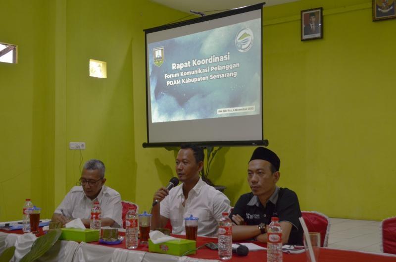 Rapat Koordinasi bahas Restrukturisasi Keanggotaan FKP PDAM Kab. Semarang