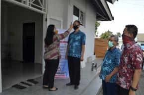 Kantor PDAM Kab. Semarang terapkan Protokol Pencegahan Covid-19