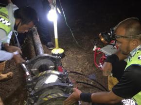 Perbaikan Pipa Dampak dari Pembuatan Drainase oleh Binamarga di Ambarawa